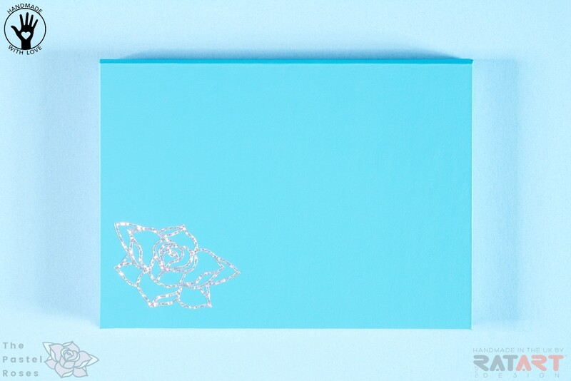 Magnetic Palette With Mirror - Large - Light Blue - New Edition