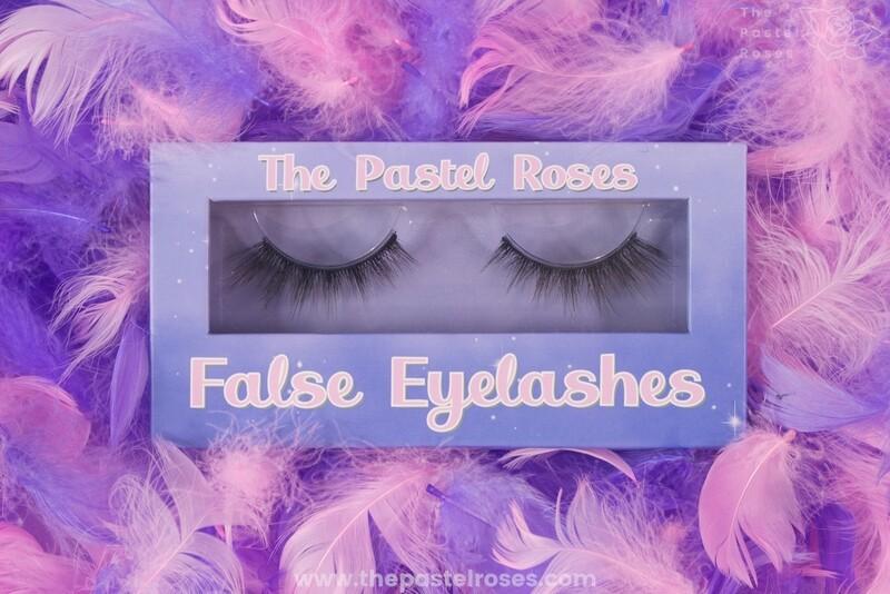 Synthetic False Eyelashes - Swan