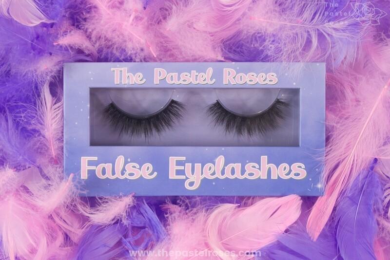 Synthetic False Eyelashes - Candy
