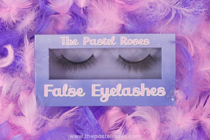Synthetic False Eyelashes - Velvet Rose