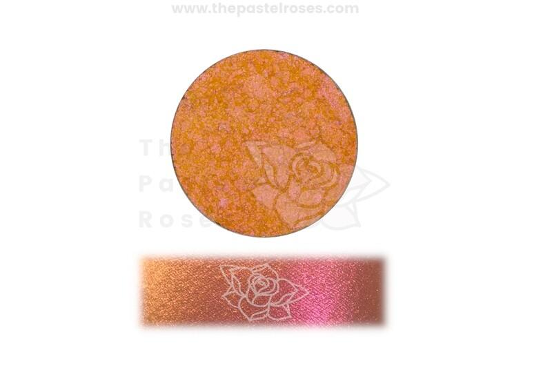 Pastel Duo Chrome Pressed Shadow - Electric Orange