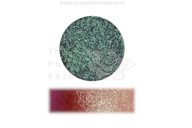 Duo Chrome Pressed Shadow - Beetle