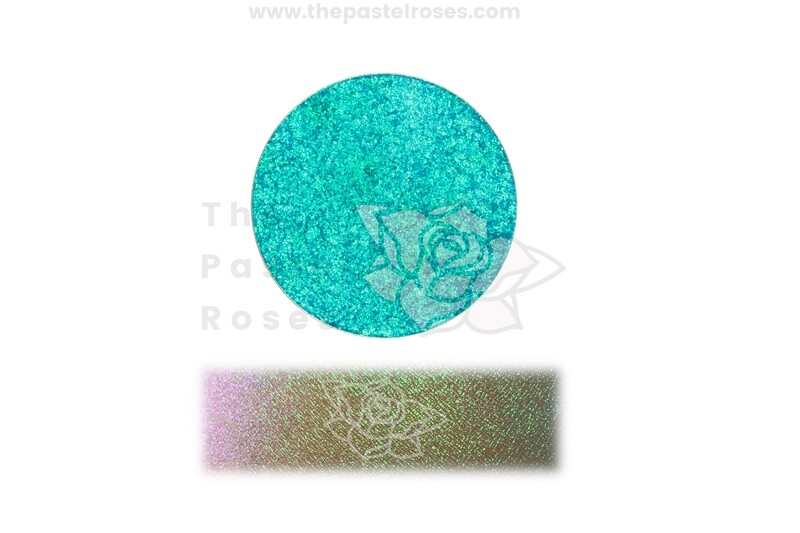 Pastel Duo Chrome Pressed Shadow - Caribbean