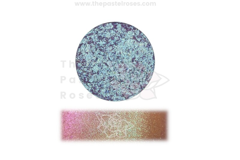 Duo Chrome Pressed Shadow - Midnight Rose