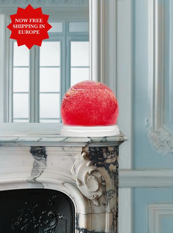 Maison Margiela Giant Souvenir Red Snowball