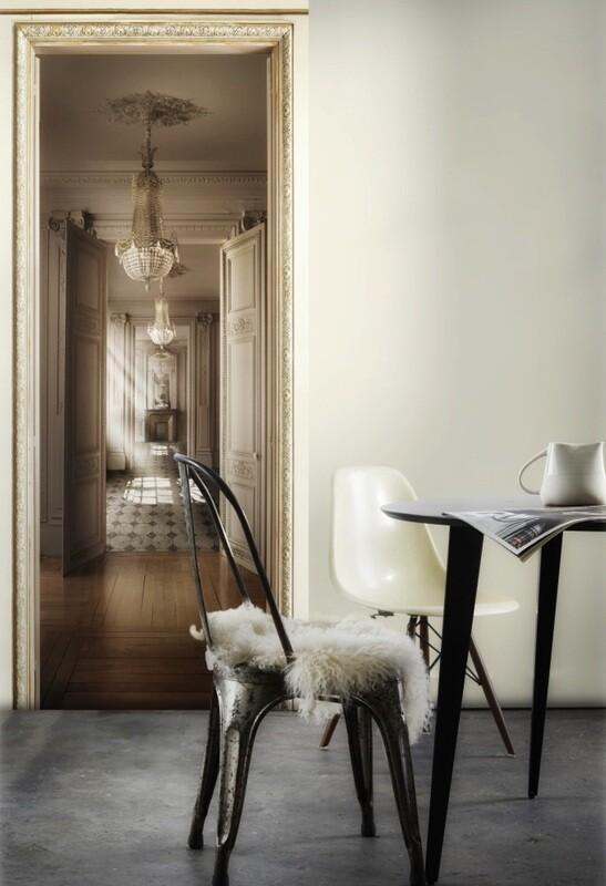 Koziel Trompe-l'œil Wallpaper Darkroom Perspective