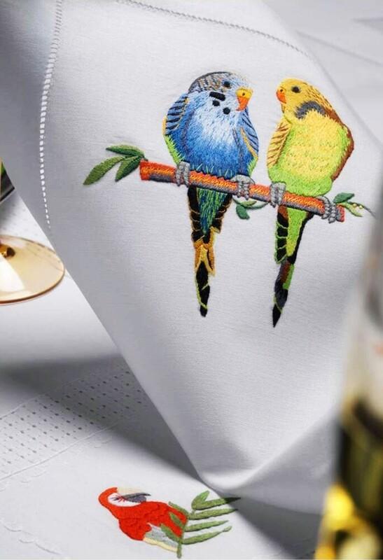 RN Renaissance Paris Linen Napkin,Nature Inspiration
