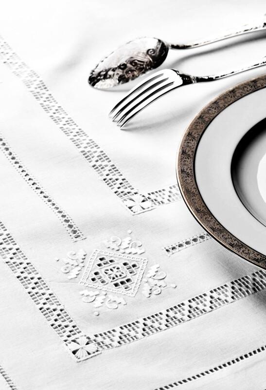 RN Renaissance Paris Openwork Embroidered Tablecloth, Ajouré Inspiration