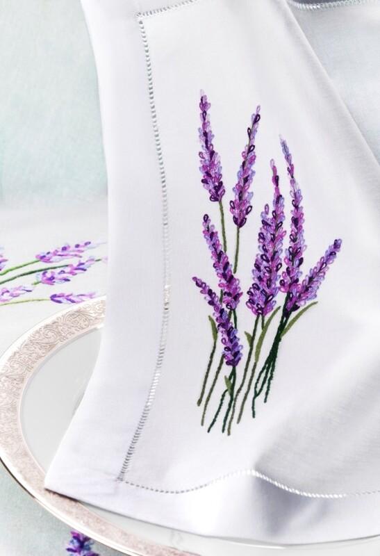 RN Renaissance Paris,  Linen Napkins,Provence Nature Inspiration