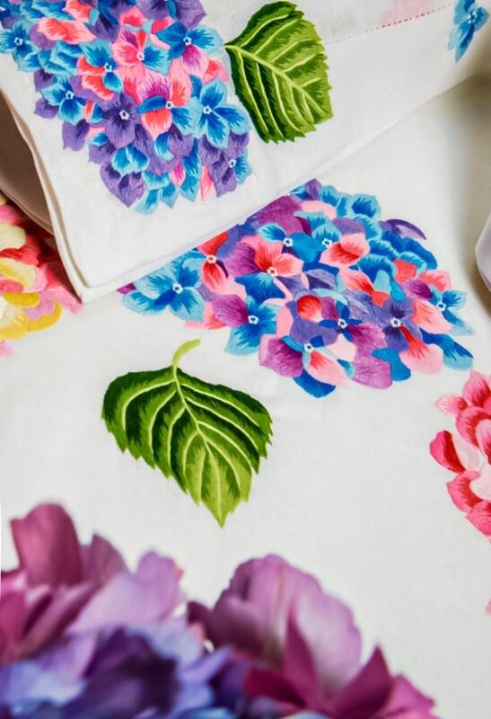RN Renaissance Paris 100% Linen Hortensia Napkins, Nature Inspiration