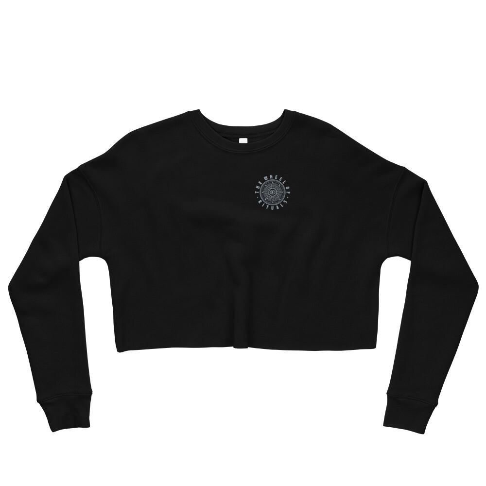 """""""Wheel of Rituals"""" Crop Sweatshirt"""