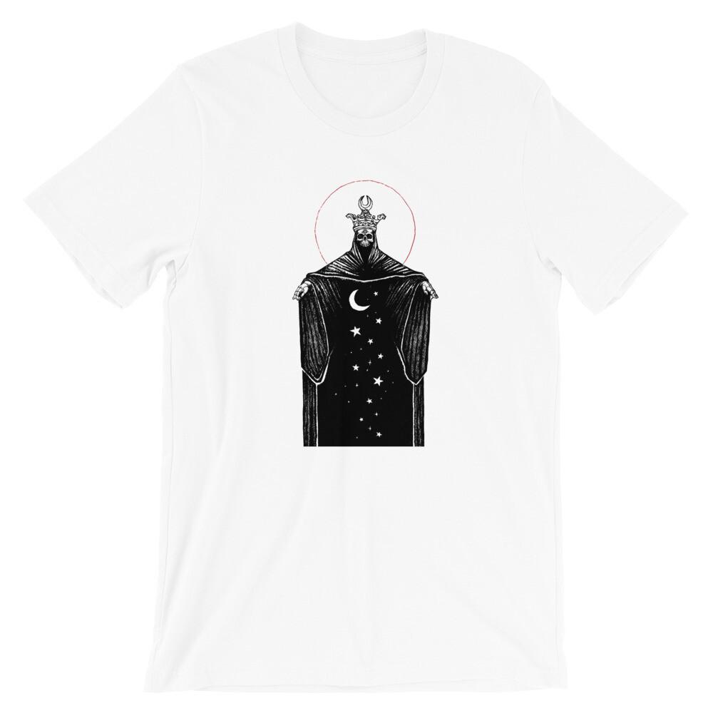 """""""Ten of Pentacles"""" Short-Sleeve Unisex T-Shirt - White"""