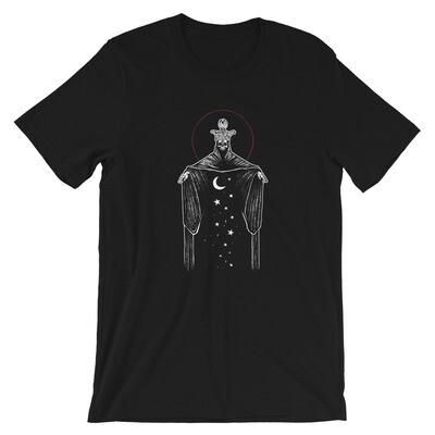 """Ten of Pentacles"" Short-Sleeve Unisex T-Shirt - Black"