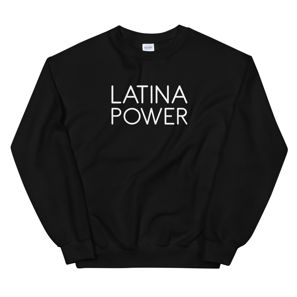 Latina Power Crewneck (Black)