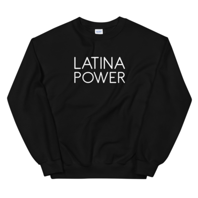 Latina Power Crewneck (Black)