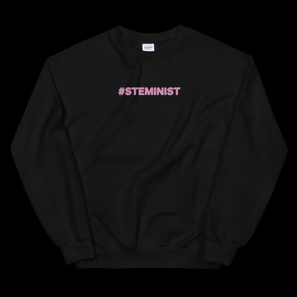 #STEMINIST Unisex Crewneck (Black, Grey, or White)
