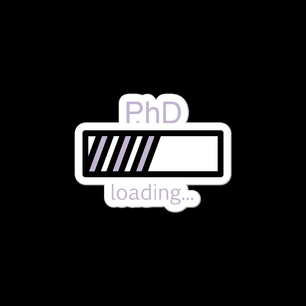 PhD Loading Sticker (Lavender)