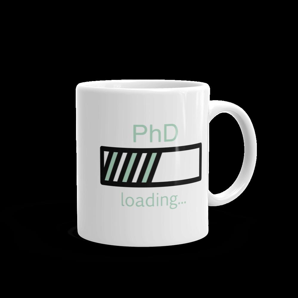 PhD Loading Mug (Mint 11oz)