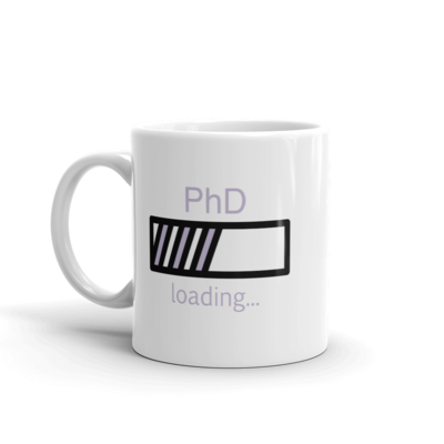 PhD Loading Mug (Lavender 11oz)