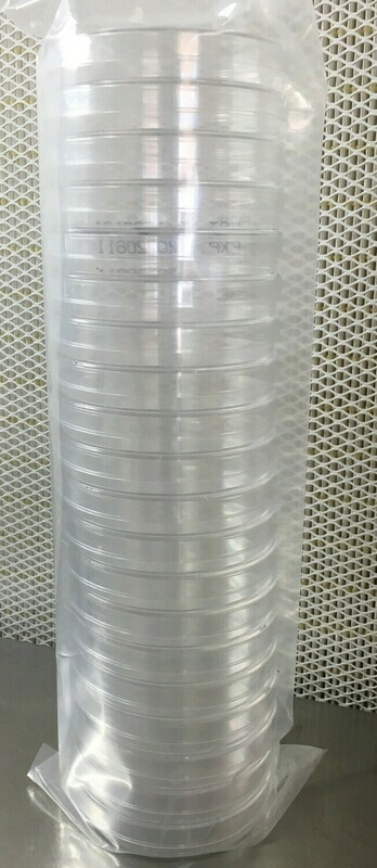 Sterile Petri Dishes 100mm X 15mm - 20 Count Per Sleeve