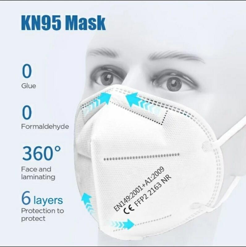Atemschutz Maske ffp2/n95 CE