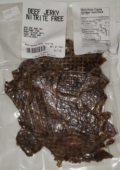 Beef Jerky - 110 g or 4 ounces
