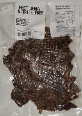 Beef Jerky - 110 g or 4 ounces or 1/4 pound