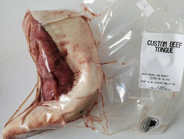 Beef Tongue - Approx. 2 lb