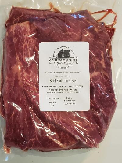 Flat Iron Steak - 3 pounds