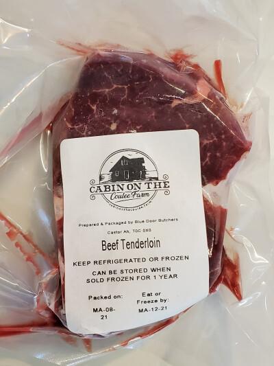 Tenderloin Steak - 3 pounds (aka filet mignon)