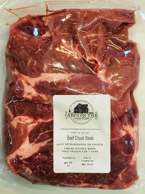 Chuck Steak - 3 pounds