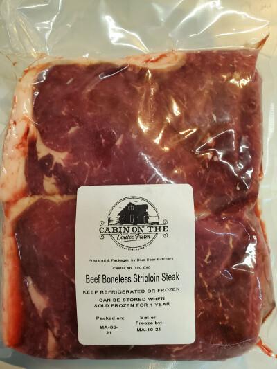 Strip Loin Steak - 3 pounds