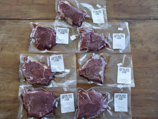 Top Sirloin Steak - 3 pounds