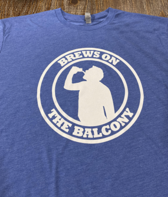 Brews On The Balcony Logo Shirt