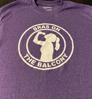 Bras On The Balcony Logo Shirt