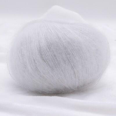 Silk mohair LUX  (6027/Белый)