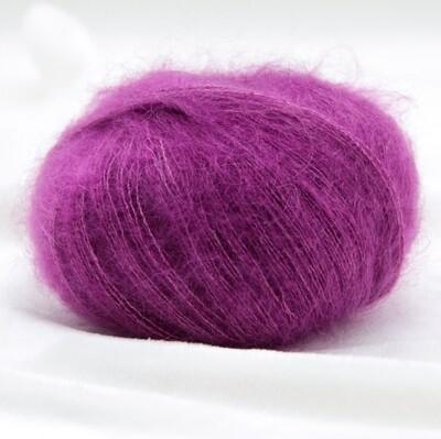 Silk mohair  (7260/Цикламен)