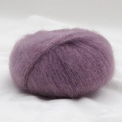 Silk mohair LUX  (12940/Пыльная сирень)