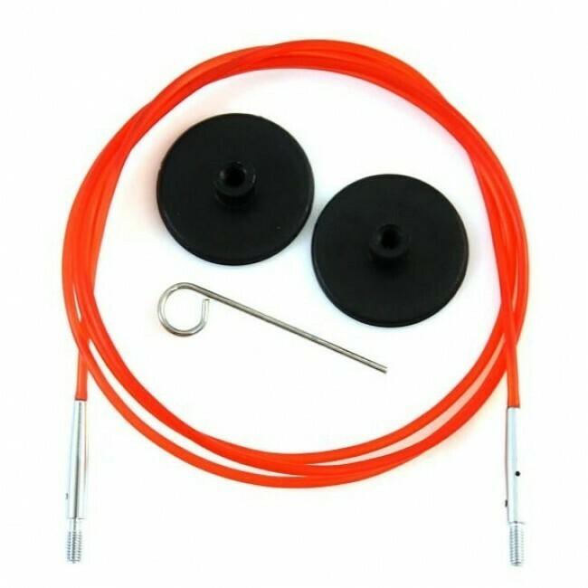 Лески KnitPro для съёмных спиц 100см