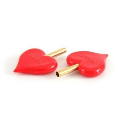 Наконечник для лески в виде фирменного сердечка ADDICLICK-HEARTSTOPPER (2 штуки в упаковке)