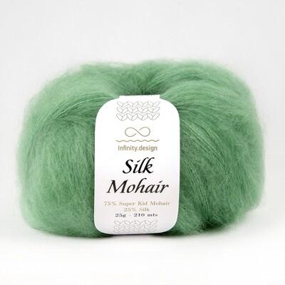 Silk mohair (8244/Зеленая трава))
