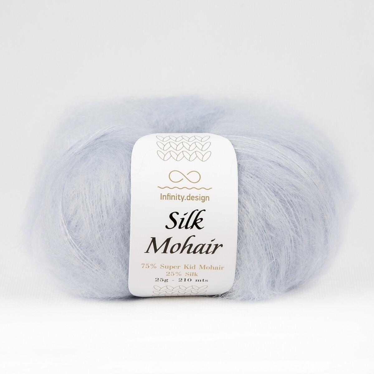 Silk mohair (5930/Голубой)