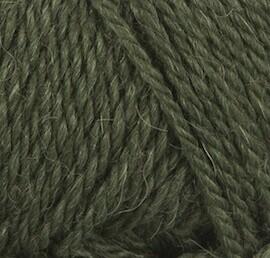 Alpaca wool (9573/Зеленый мох)