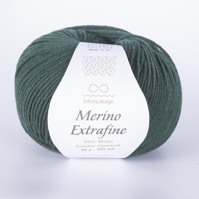 Merino extrafine (8072/Зеленый лес)