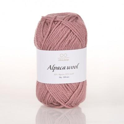 Alpaca wool (4042/Пыльная роза)