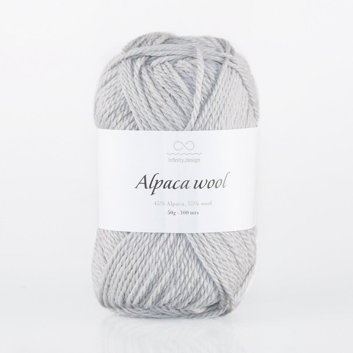 Alpaca wool (1042/Серый)