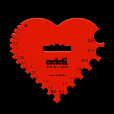 Измеритель спиц и крючков ADDI