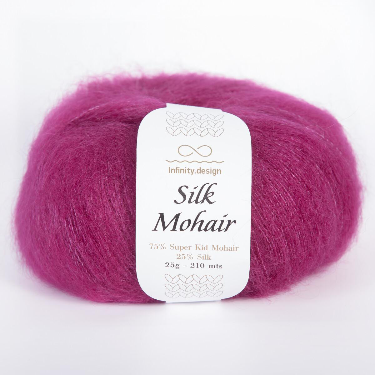 Silk mohair (4545/Цикламен)
