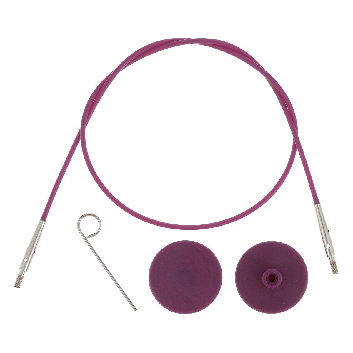 Тросик для съемных спиц, длина 56 (80)см, KnitPro