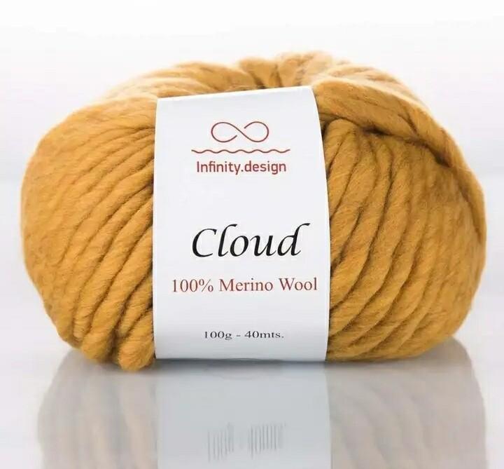 Cloud (0989/Горчичный)